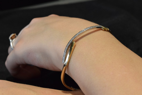 Diamond Bangle #5212
