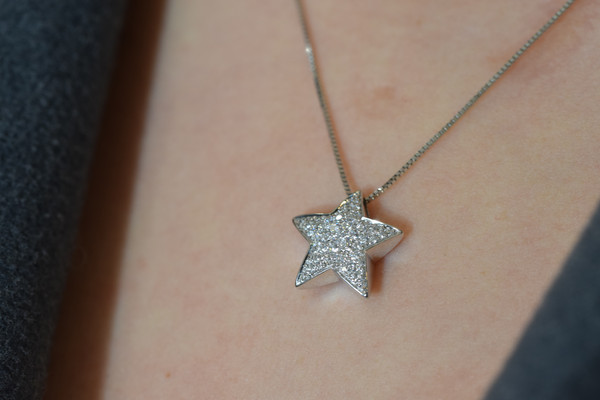 Diamond Star Pendant #3965
